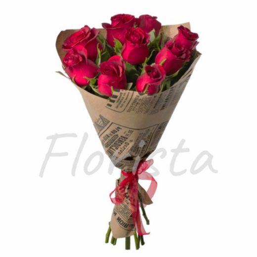 9 роз в Крафте