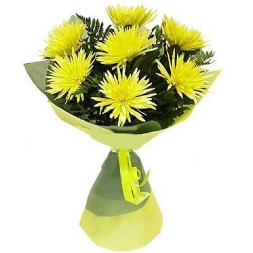 Хризантема Одиночная Желтая