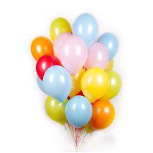 Воздушные шары, Разноцветные