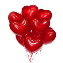 Воздушные шары, Сердце